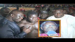 Combat de lutte organisé par Yékini à Mbour : Drapeau Gorgui CISS (Maire de Yenne)