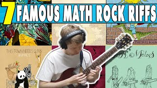 7 Popular Math Rock Riffs - The Fall of Troy, CHON, Tiny Moving Parts, TTNG, Clever Girl, Tera Melos