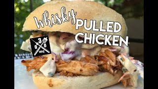 Whisky Pulled Chicken Schrippe - 030 BBQ