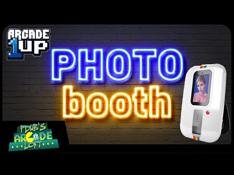 Arcade1Up Polaroid At-Home Instant PhotoBooth Updates! from PDubs Arcade Loft