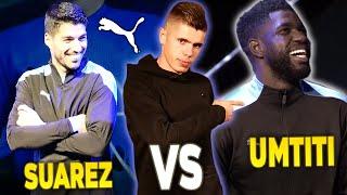 SUAREZ vs UMTITI! Mecz piłkarskiego PING-PONGA!