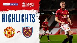 Man United 1-0 West Ham | <b>FA Cup</b> 20/21 Match Highlights