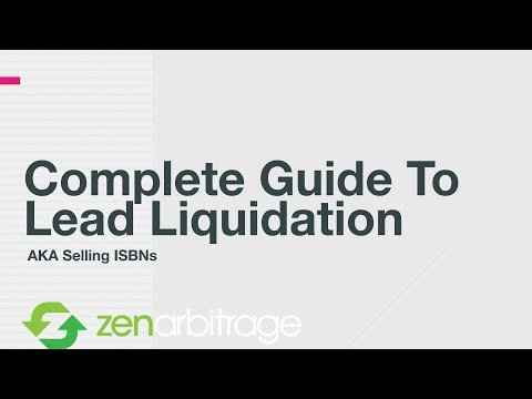 How to profit selling ISBNs in the BookLeads Marketplace (Zen Arbitrage tutorial) thumbnail