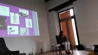 Ponencia sobre el taller Viaje a mí feminidad en el Coloquio Mujeres Fotógrafas 2020