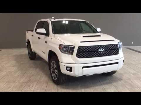 2018 Toyota Tundra Sport >> 2018 Toyota Tundra 4x4 Crewmax SR5 Plus 5.7L | TRD Sport Package - YouTube