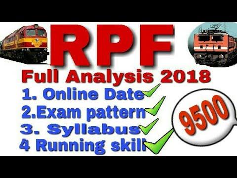 Railway RPF Recruitment 2018 || Railway RPF  2018 | RPF Vacancy 2018 | RPF Latest Update 2018