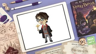 #nick_arty #nick_arty_video Harry Potter sketch | Гарри Поттер скетч