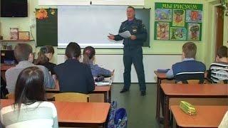 Сюжет об уроках, посвященных Дню знаний ГО,проводимых в школе №80 (13.10.14)