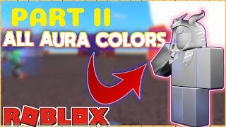 How To Unlock All Aura Roblox Super Power Training Simulator Part 2 (Body Toughness Aura)