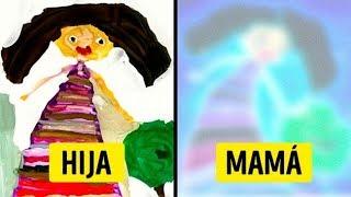 Padres Convierten Los Dibujos De Sus Hijos En Obras De Arte