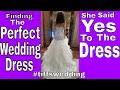Finding The Perfect Wedding Dress| She Said Yes To The Dress (Episode1) #tiffswedding