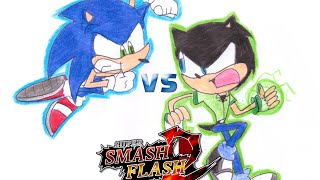 Gambar cover SSF2 Mod: the War of the Fast Hedgehogs
