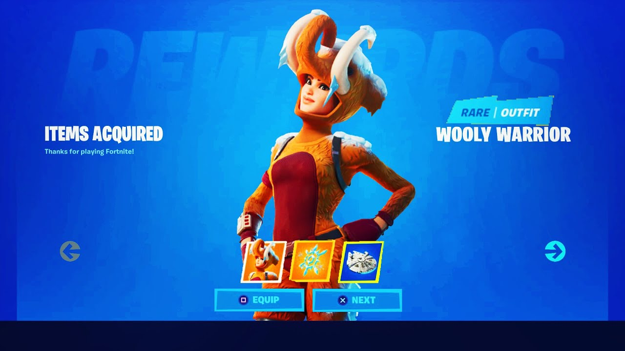 """How To UNLOCK! The *NEW* """"WOOLLY WARRIOR"""" Skin In Fortnite ..."""