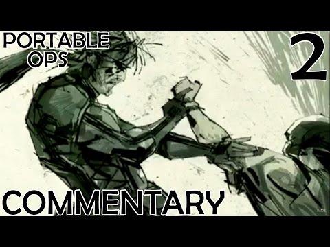 Metal Gear Solid Portable Ops HD Walkthrough Part 2 - Snake's 1st Recruit