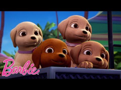щенки сумасшедшие | Отрывки из фильмов Барби | @Barbie Россия 3+