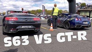 Mercedes-AMG S63 Cabriolet vs GT-R vs TVR T350T vs C63 S