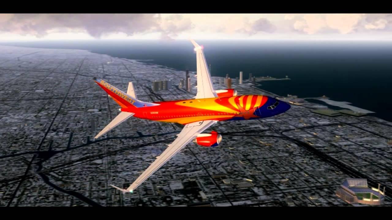 HD FSX-Southwest Airli...