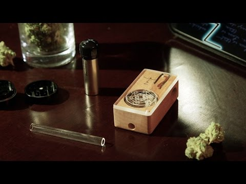 Magic Flight Launch Box Portable Vaporizer Blazin' Gear Review