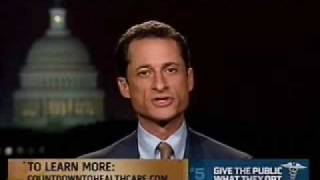 Weiner Discusses Health Reform on MSNBC