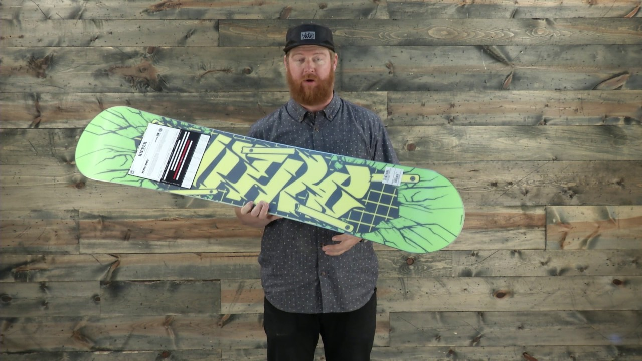 16311f432dec 2017 Nitro Ripper Wide Snowboard Review - The-House.com - YouTube