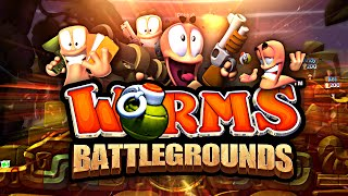 THE CAVE - Worms Battlegrounds!