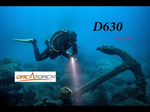PERFECT Canister Light For TEC Diving?  REVIEW | Orcatorch D630