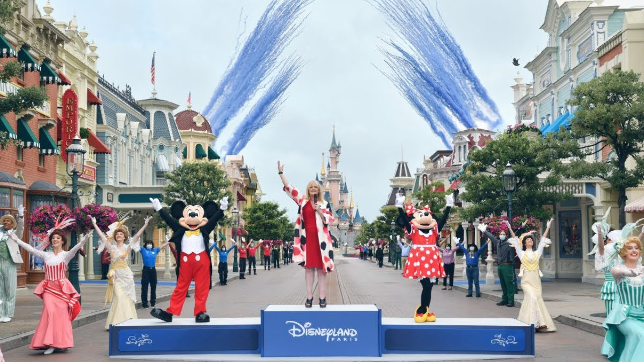 Disneyland Paris Reopening Ceremony July 15 2020 Youtube
