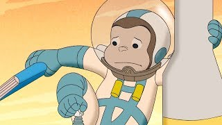 Curious George 🐵 George in Mars 🐵Compilation🐵 HD 🐵 Cartoons For Children