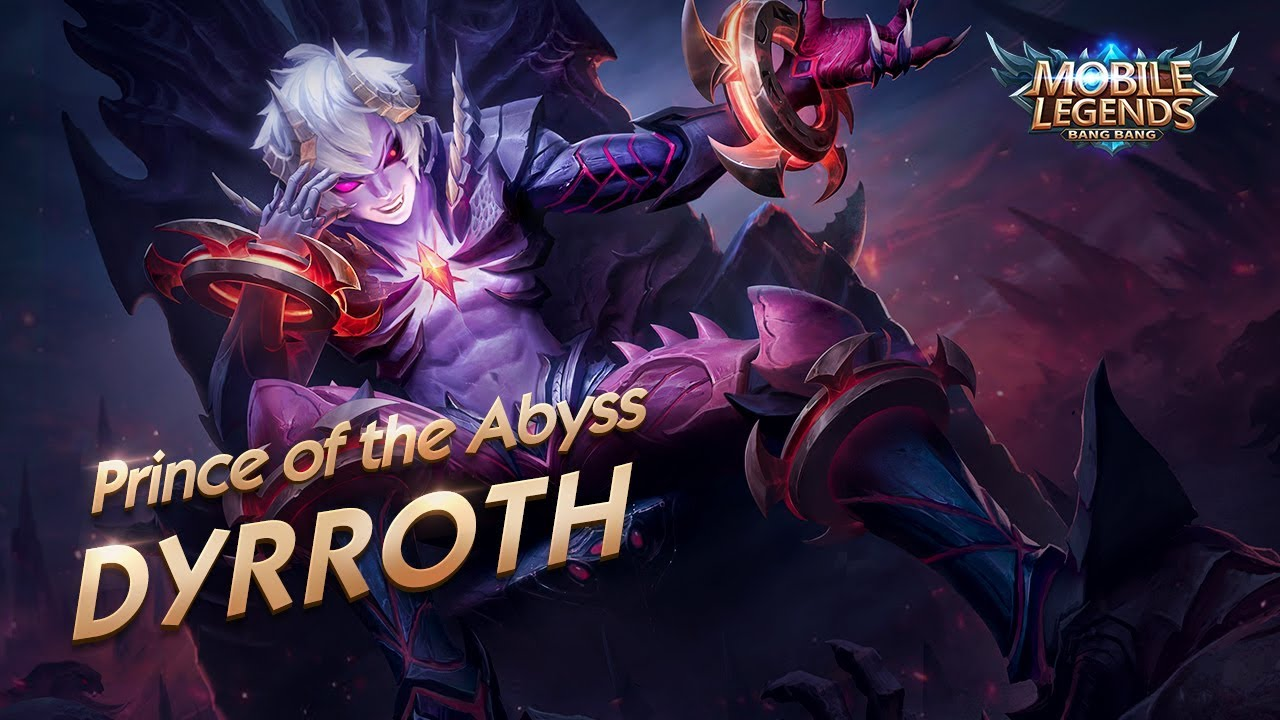 New Hero Prince Of The Abyss Dyrroth Mobile Legends Bang Bang