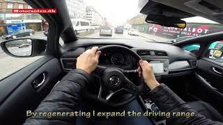 Nissan LEAF 40 kW 2nd gen test