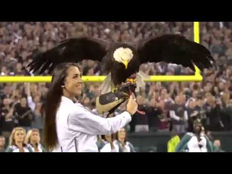 Challenger soars at Eagles vs. Redskin Monday Night Football