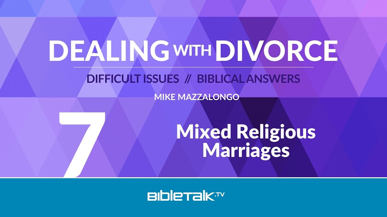 Mixed Religious Marriages