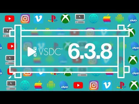 VSDC Free Video Editor 6.3.8