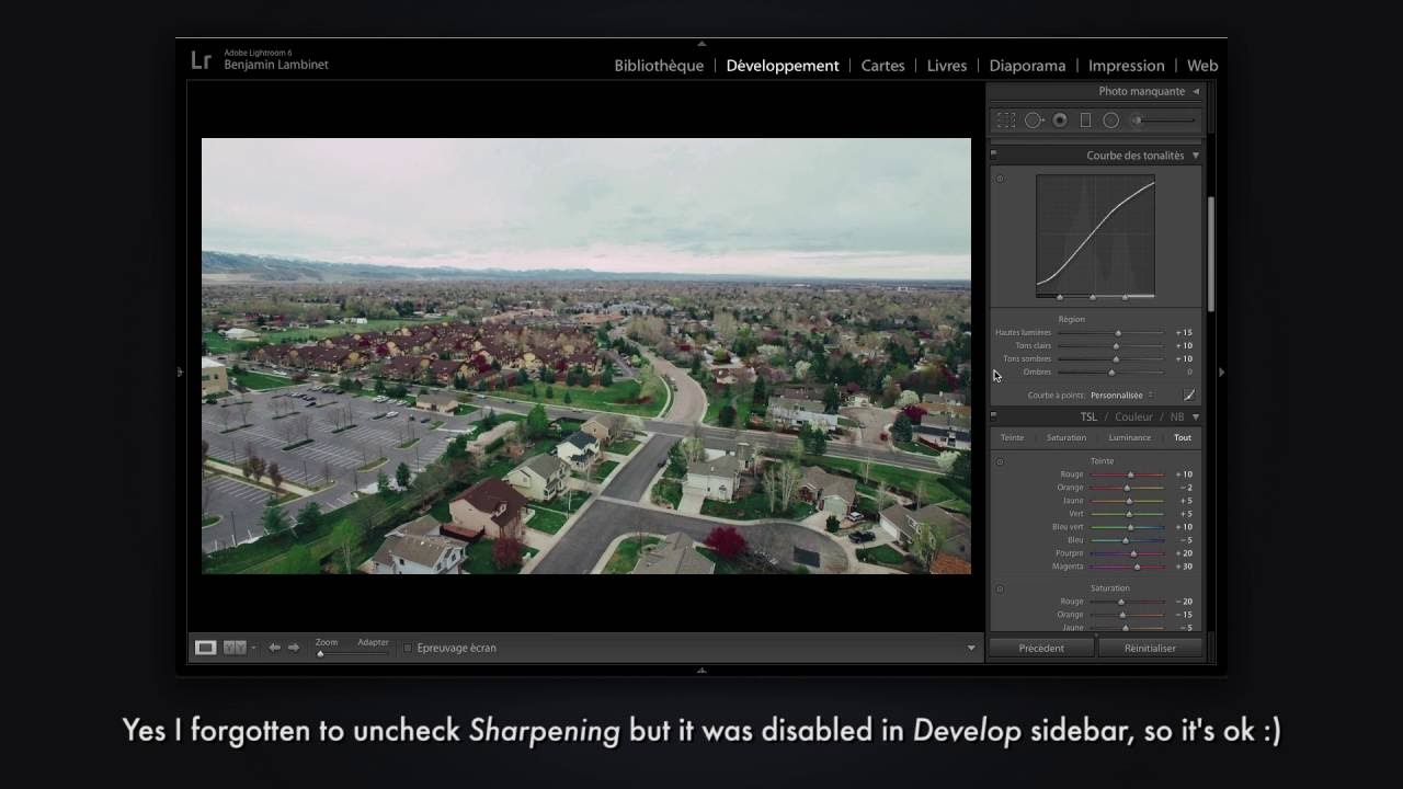 How to convert a Lightroom preset to 3D LUT to use on video