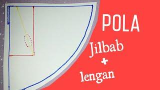 vuclip Pola Jilbab ditambah Posisi Letak Lubang Lengan