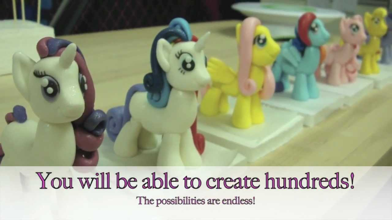 MY Little Pony Cake Topper Tutorial: NOW AVAILABLE! - YouTube