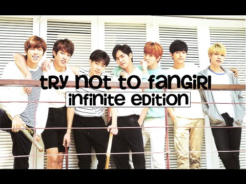Try not to fangirl challenge – INFINITE Edition
