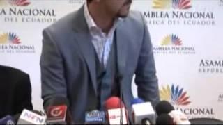 PELEA  ABDALÁ BUCARAM VS RAFAEL CORREA