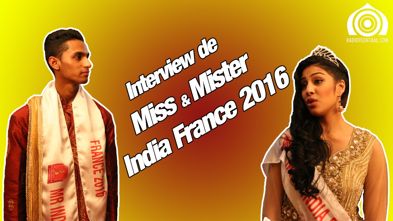 interview de miss mister india france 2016 par pooja. Black Bedroom Furniture Sets. Home Design Ideas