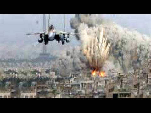 BREAKING Russian Airstrikes bomb Turkish positions near Biblical Euphrates Syria February 10 2017
