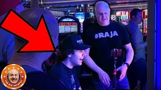 DAVID DOBRIK CRASHES MY LIVE STREAM AND HITS A JACKPOT!