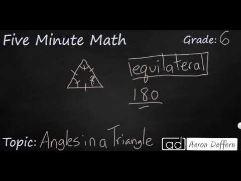6th Grade Math - Triangles