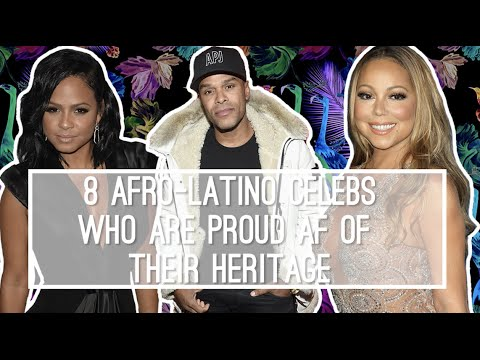 """8 Afro-Latinos That Break the Stereotype of What """"Latino"""" Looks Like"""