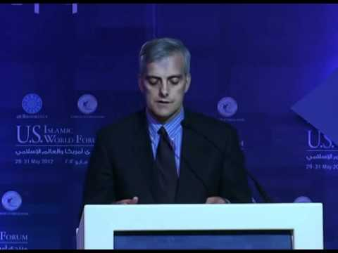 U.S.- Islamic World Forum 2012 Deputy National Security Advisor Denis McDonough Remarks