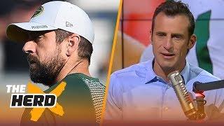 Doug Gottlieb on Aaron Rodgers : 'His quarterback clock is ticking' | NFL | THE HERD