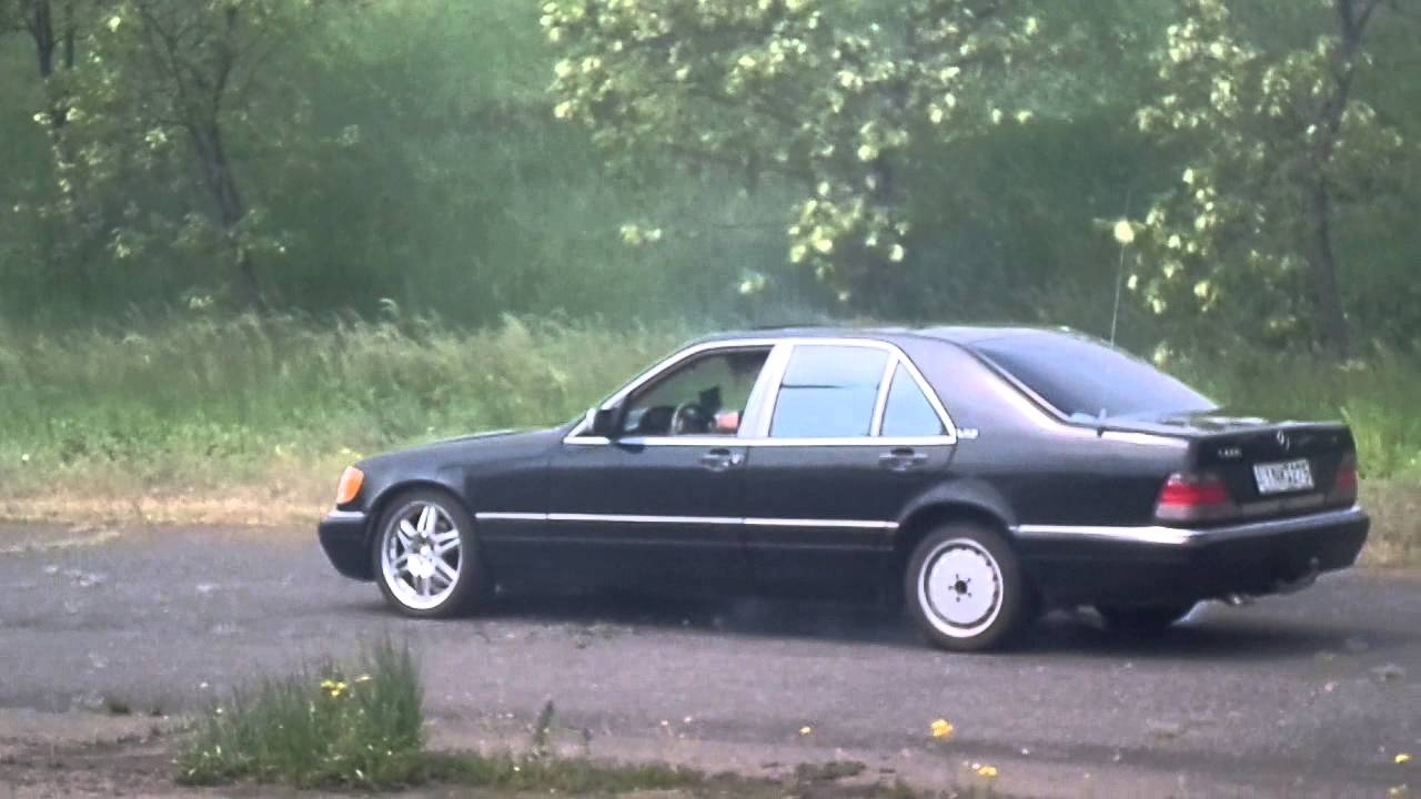 Mercedes benz s600 v12 w140 from hungary burnout and lost for 1996 mercedes benz s600