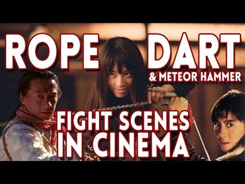 Rope Dart & Meteor Hammer Fight Scenes in Film & Cinema