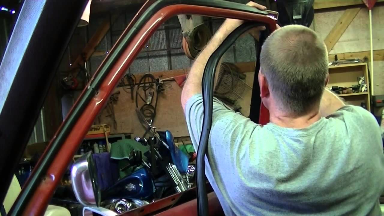 North Carolina F-150 Window Channel Replacement - YouTube