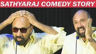 Sathyaraj Full Comedy Speech on his Baldness