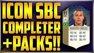 PRIME ICON ROBERTO CARLOS COMPLETED + TOTGS PACK PACK OPENING WILL WE PACK RONALDO?
